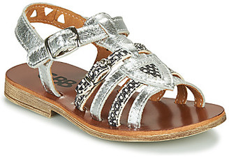 GBB FANNI girls's Sandals in Silver