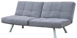 DHP Kaila Sofa Sleeper Convertible Futon Bed with Adjustable Armrests