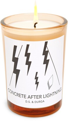 D.S. & Durga Concrete After Lightning Scented Candle