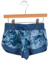 Stella McCartney Girls' Floral Print Mini Shorts