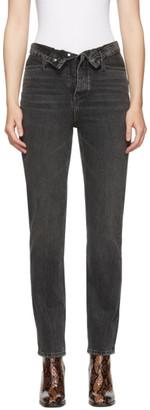 Alexander Wang Black Cult Flip Jeans