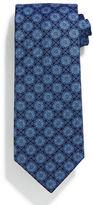 Stefano Ricci Square Medallion-Print Silk Tie
