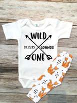 Etsy Baby Boy Clothes Wild One Birthday Boy Outfit Set, Wild One Shirt Set, 1st Birthday Outfit, First Bi