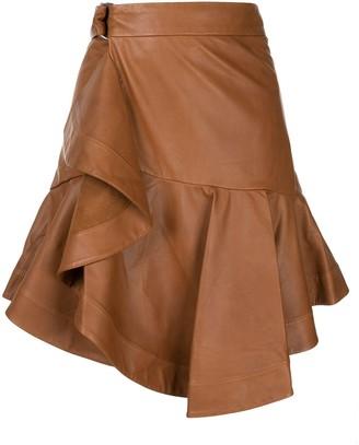 A.L.C. Amalie leather skirt