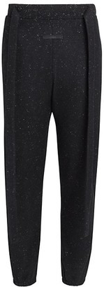 Fearofgodzegna Belted Donegal Wool Joggers