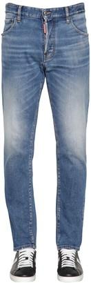 DSQUARED2 16.5cm Sexy Mercury Cotton Denim Jeans