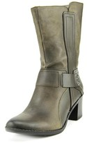 Bar III Wade Round Toe Leather Mid Calf Boot.