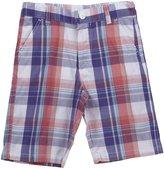 E-Land Kids Plaid Shorts (Toddler/Kids) - Heliotrope-12