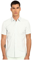 Marc Jacobs Summer Stripe Slim Short Sleeve Button Up