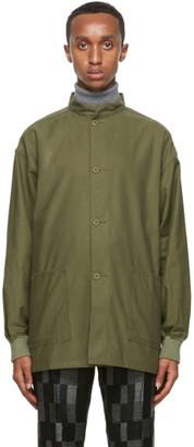 Needles Green Twill Army Shirt