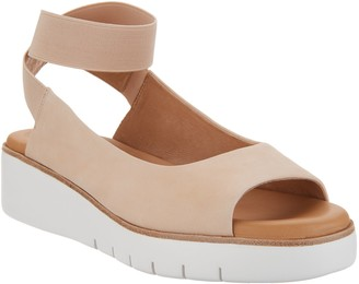 Corso Como Leather Ankle Strap Sandals - Beeata