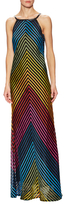Mary Katrantzou Rebel Striped Gown