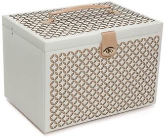 Chloe Extra-Large Leather Jewelry Box
