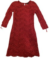 Juicy Couture Red Lace Dress for Women