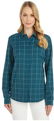 Arc'teryx Riel Long Sleeve Shirt (Astralite) Women's Clothing