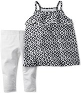 Carter's Girls 2-Piece Geometric Tank Top