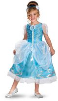 Disney Princess Cinderella Deluxe Sparkle Costume - Toddler/Kids