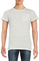 Strellson Striped Cotton Tee