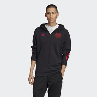 adidas New York Red Bulls 3-Stripes Travel Jacket