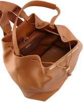 The Row Hobo Leather Hobo/Backpack, Camel