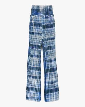 Semsem Tie-Dyed Wide-Leg Pants