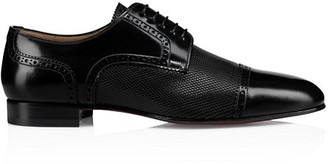 Christian Louboutin Eygeny Leather Wingtip Oxford Dress Shoes