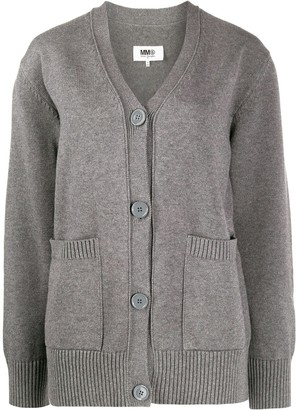 MM6 MAISON MARGIELA Chunky-Knit Cardigan