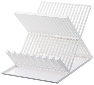 Williams-Sonoma Tower X Shaped Dish Drainer Rack, White
