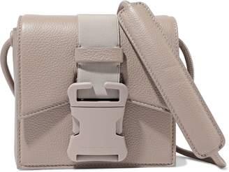 Christopher Kane Bonnie Pebbled-leather Shoulder Bag