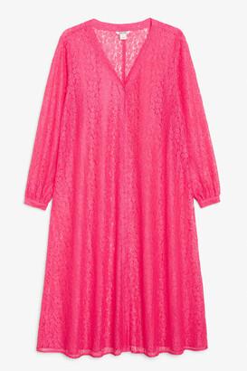 Monki Lace maxi dress
