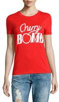 Ganni Cherry Bomb Lyocell Tee