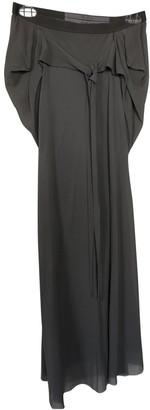 Rick Owens Beige Silk Skirt for Women