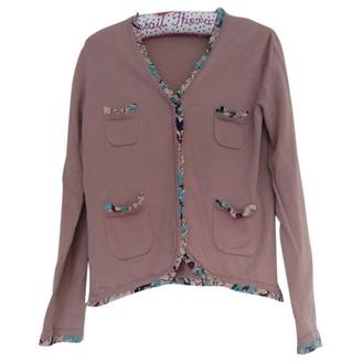 Cacharel Pink Wool Knitwear