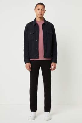 French Connenction Darkest Indigo Denim Jacket
