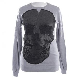 Philipp Plein Grey Cotton Knitwear for Women
