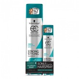 Schwarzkopf Extra Care Strong Styling Hairspray with Bonus Travel Size 2 pack