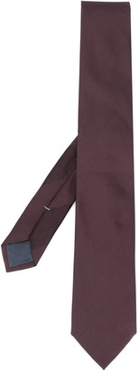 Ermenegildo Zegna Unadorned Pointed Tie