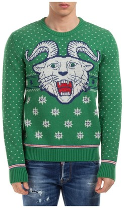 Gucci Intarsia Knitted Sweater