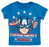 Nannette Boys 2-7 Boys Captain America Graphic Tee