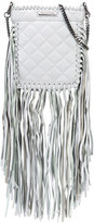 Thomas Wylde fringed quilted crossbody - women - Lamb Nubuck Leather - One Size