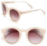 Derek Lam Women's 'Lafayette' 49Mm Sunglasses - Blue Marble