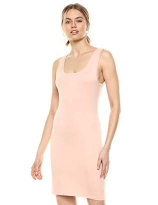 The Drop Women's Sonia Scoop Neck Fitted Body Con Mini Tank Dress