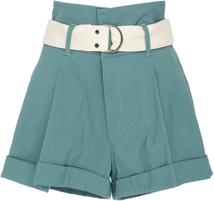 Sea Poppy High Waisted Camper Short