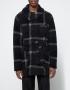 Engineered Garments Shawl Collar Knit Jacket Dk. Navy/Grey Wool Knit