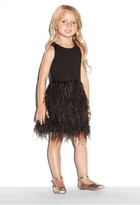 Milly Minis Blaire Feather Dress