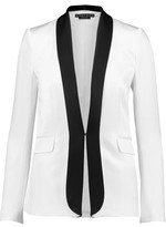 Alice + Olivia Edison Two-Tone Satin Blazer