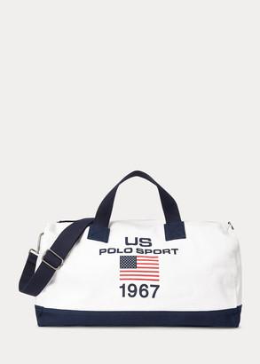 Ralph Lauren Polo Sport Canvas Duffel Bag