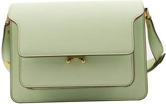 Marni Trunk Bag In Saffiano Leather Shoulderbag Lemonade