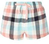 Dorothy Perkins Womens Bunny Check Pyjama Shorts- Pink