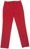 Max Mara Red Trousers for Women Vintage